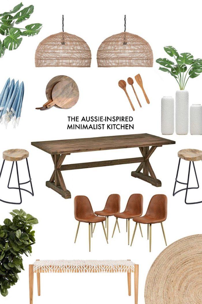 Aussie-Inspired Minimalist Kitchen