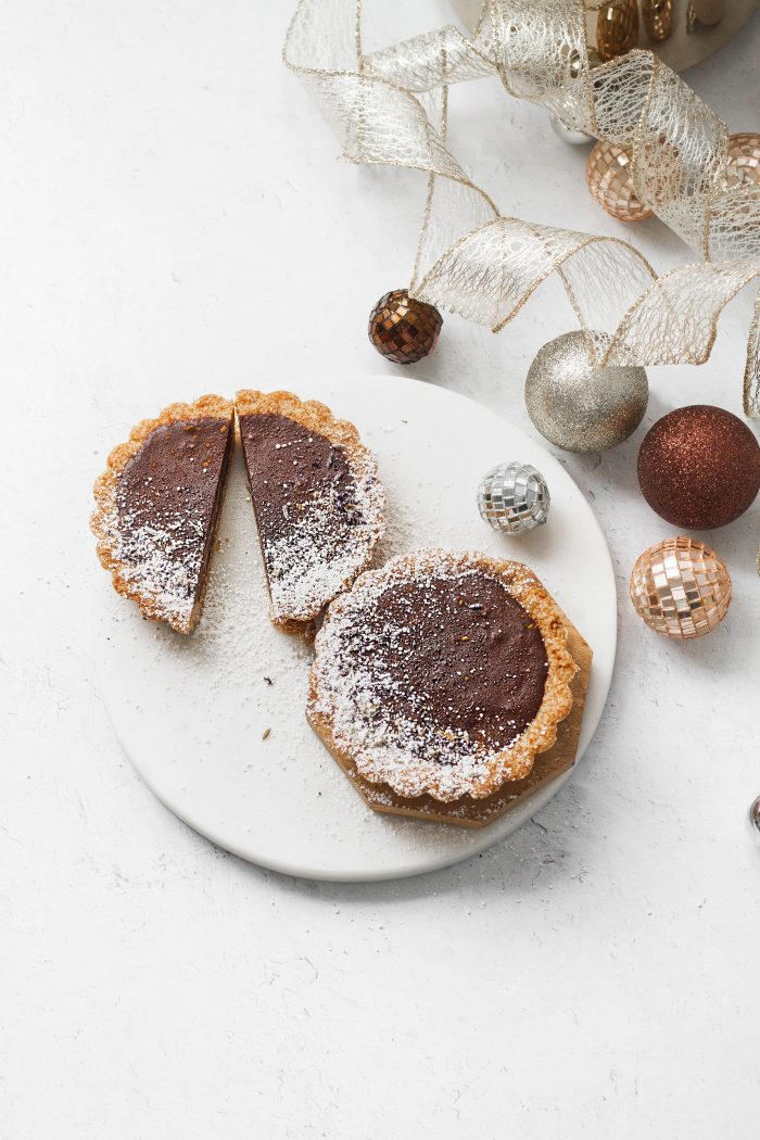 Plant-based Chocolate Tarts That Are Perfect For The Holidays