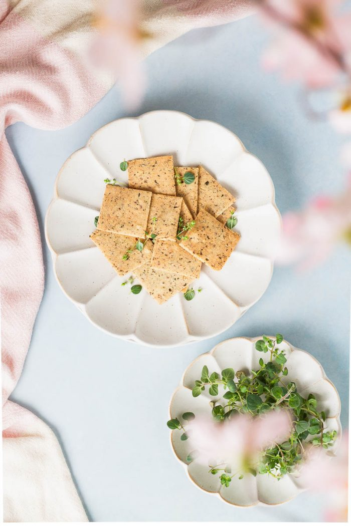 Almond Fennel Crackers