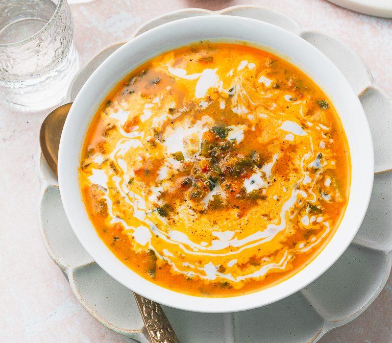 Veggie Potato Soup (Island-inspired)